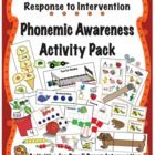 The activities contained within the Make, Take  Teach Phonemic Awareness Activity Pack are ideal for small group intervention. This activity p...