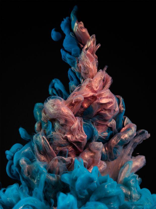 New Incredible Underwater Ink Photographs by Alberto Seveso