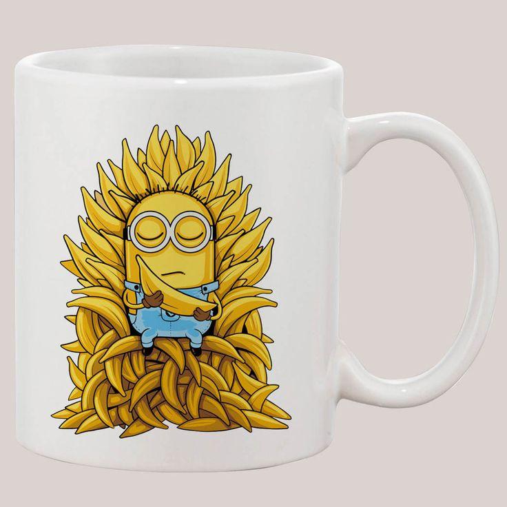 Minion Gmae Of Thrones Mug 11 oz Ceramic Design Funny Custom Gift Mugs