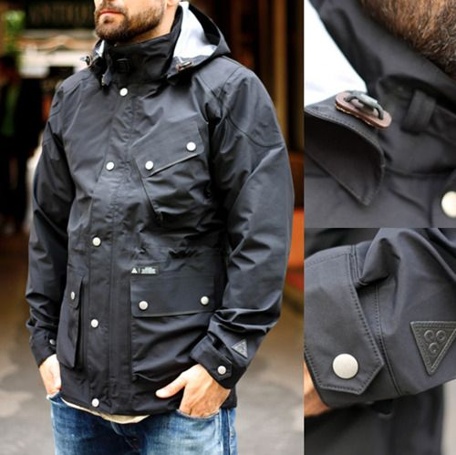 coatMen Clothing, Fashion Clothing, Goretex Jackets, Nike Acg, Men Fashion, Stylish Men, But Jacket, Men Apparel, Men Outfit