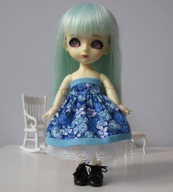 Dress and crinoline for Lati Yellow Pukifee by EveryDollsDream