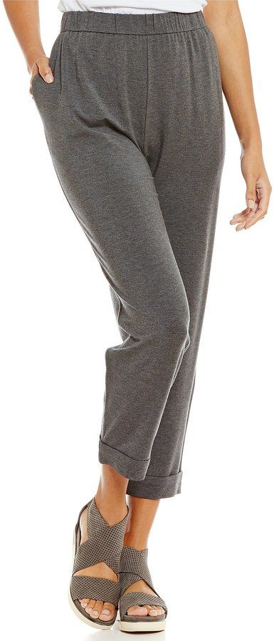 Eileen Fisher Petites Slouchy Pants