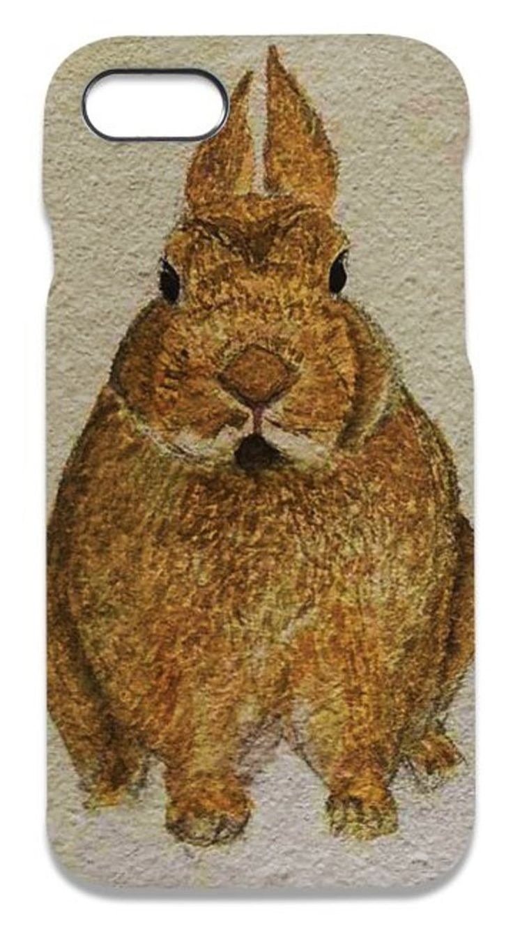 iPhone case/unique/hand painted Bunny reprint,ideal for phone/cute gift/gift for daughter/son/wife/ girlfriend/boyfriend/ best buddy