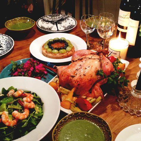 クリスマス料理、ローストチキン、チキンの丸焼き、レシピ、作り方