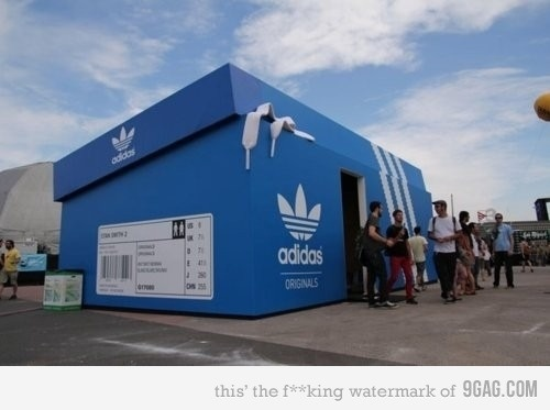Awesome adidas store is awesome