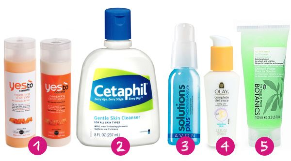 best drug store skin care products