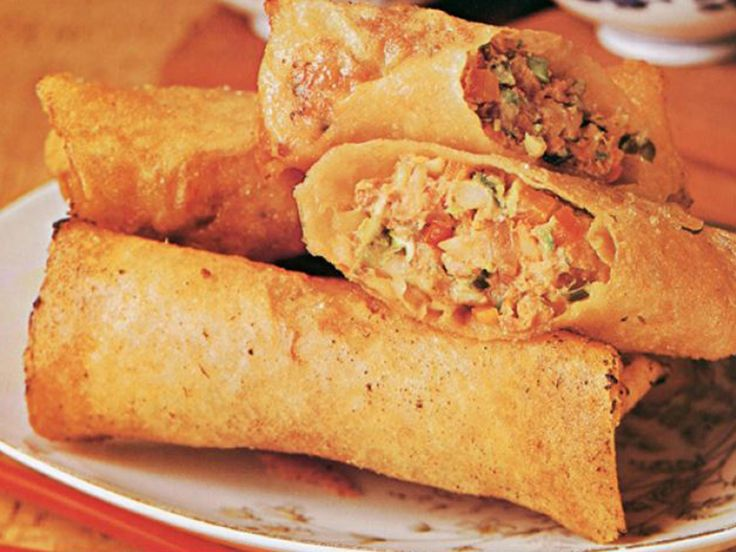 A delicious Chinese spring roll recipe, straight from The Australian Women's Weekly cookbook archives.