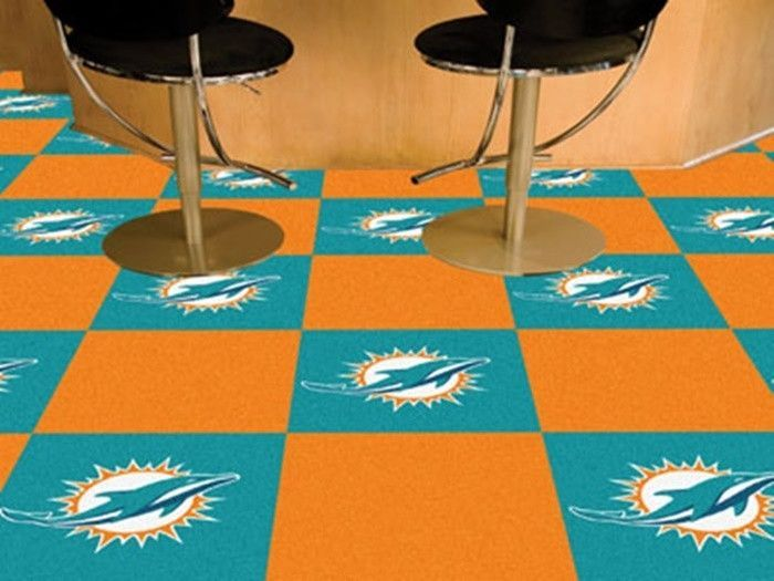 Use the code PINFIVE to receive an additional 5% discount off the price of the  Miami Dolphins NFL Carpet Tiles at sportsfansplus.com