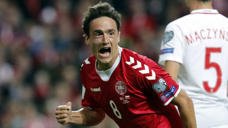 Thomas Delaney hat-trick helps Denmark to victory over Armenia #News #composite #Football #Sport #storyenriched