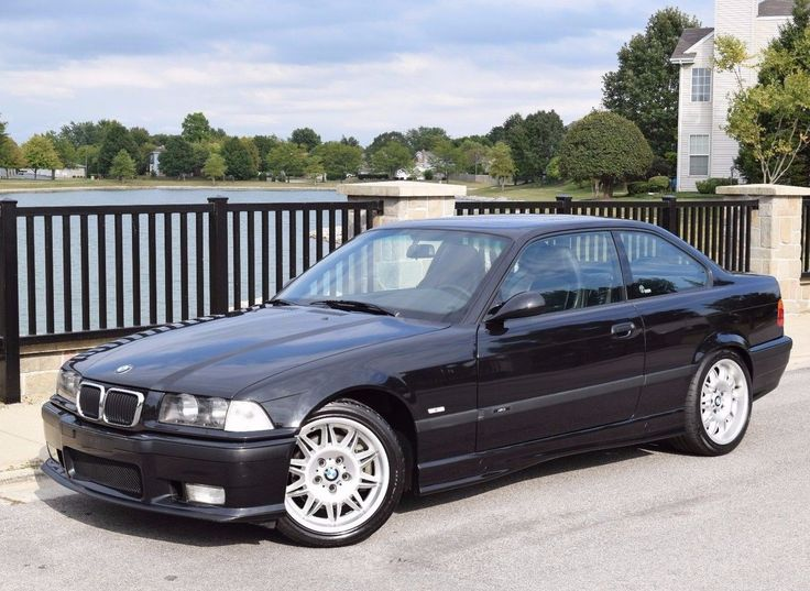Cool Awesome 1997 BMW M3  1997 BMW M3 Coupe Cosmos Black Vader Seats Stock 1 Owner! 54k pampered miles 2018
