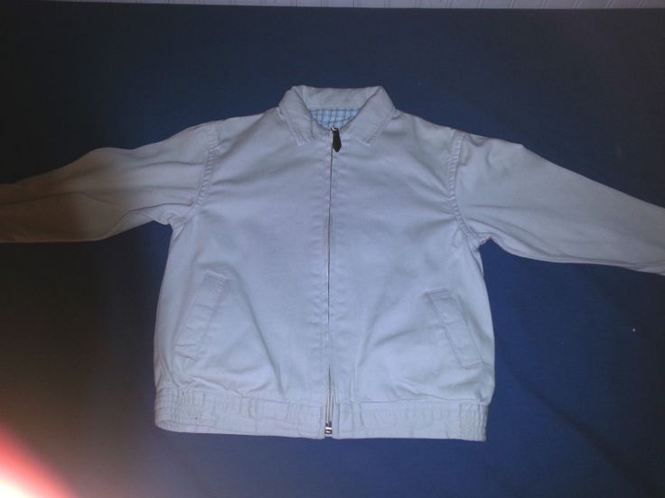 IZOD Boy's 100% Cotton Lined Zip Front JAcket-Size 2T  Priced at $7.69