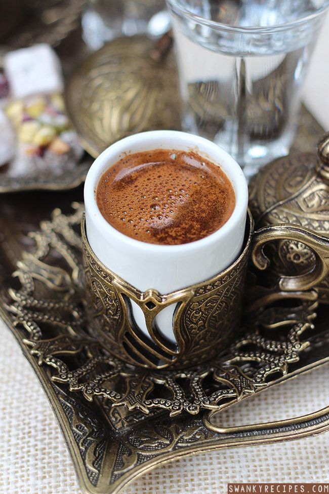 How to make, serve and drink Turkish Coffee in Traditional Style.Brewing the perfect cup of Turkish coffee is exceptional in taste, body, aroma, preparation