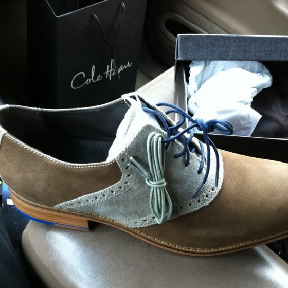 Cole Haan, Saddle Oxfords•