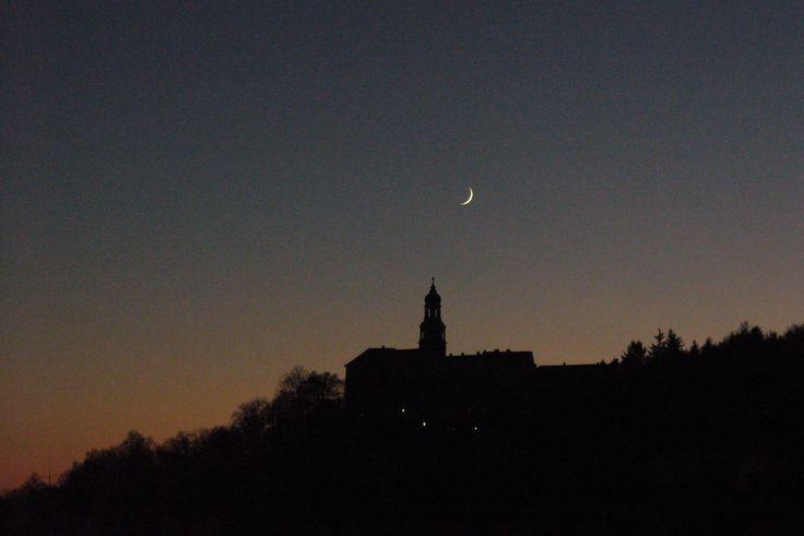 czech nature, Náchod castle at night :)
