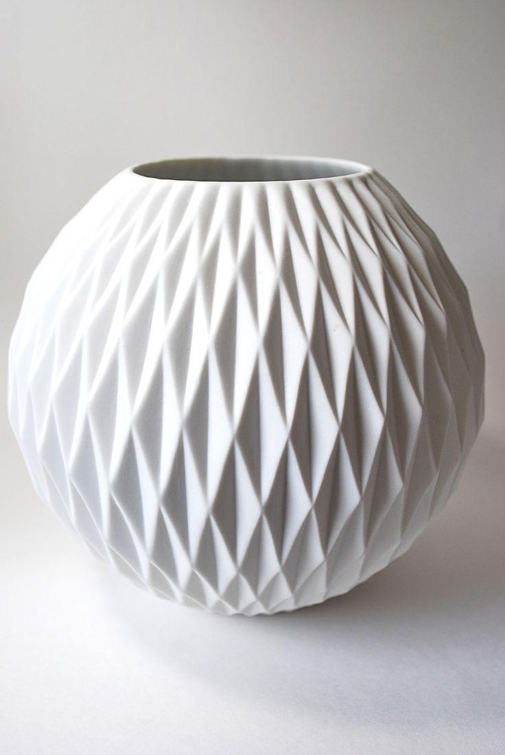 best  modern vases ideas only on pinterest  japanese pottery  - amazing large modernist matte porcelain vase thomas germany porcelainvasewhite porcelainmodern