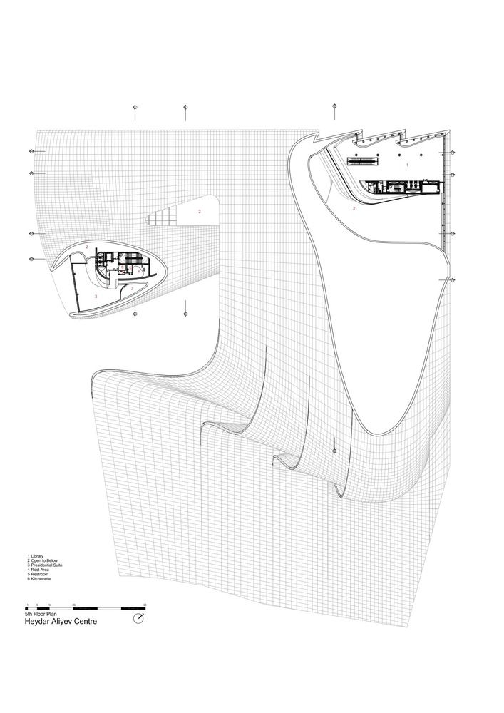 Gallery of Heydar Aliyev Center / Zaha Hadid Architects - 45