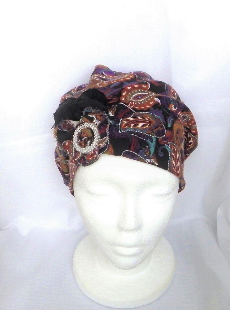 les 25 meilleures id es concernant foulard chimio sur pinterest turban chimio comment nouer. Black Bedroom Furniture Sets. Home Design Ideas