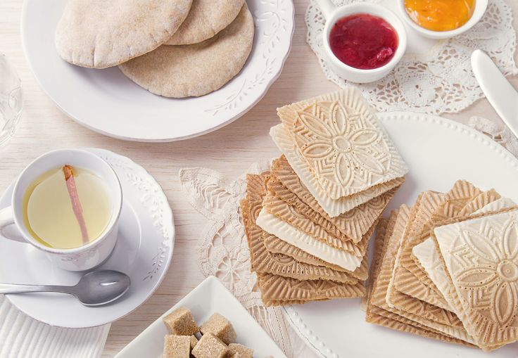 #breakfast #cookies #tea #jam #sugar #bread