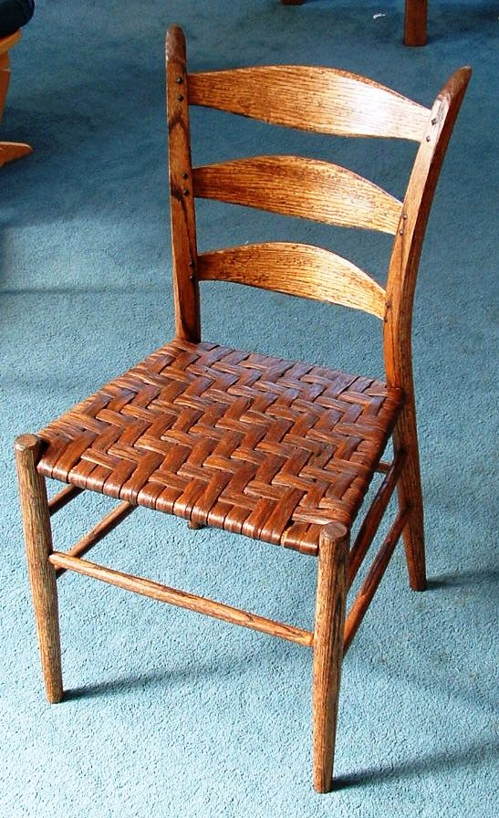 Alachian Style Ladder Back Chair With Woven Seat Stuff Ross Built In 2018 Pinterest Chairs And Furniture