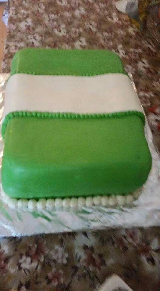 Nigeria independence cake