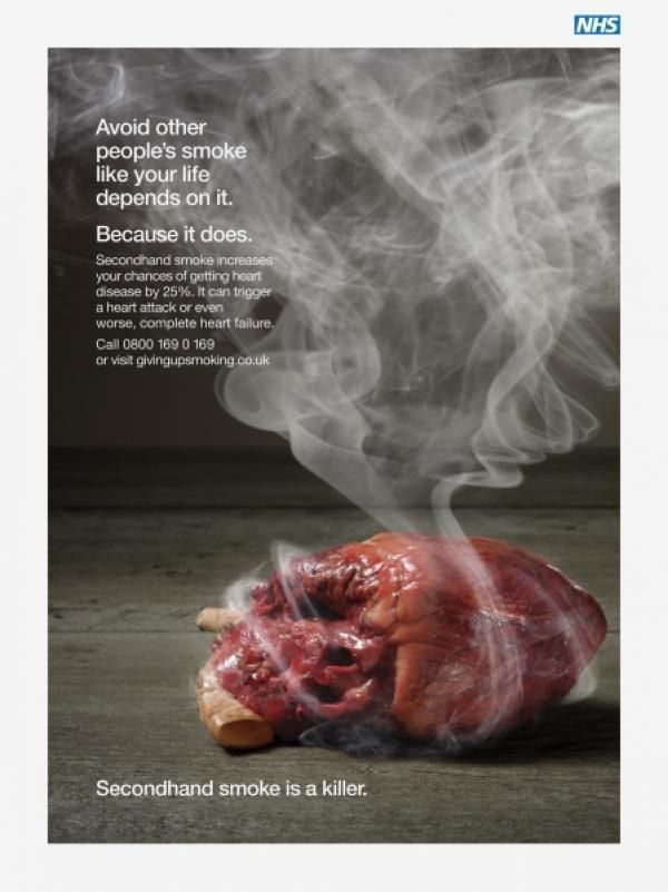 nhs anti smoking campaign | ...TCR - anti smoking | Anti ...