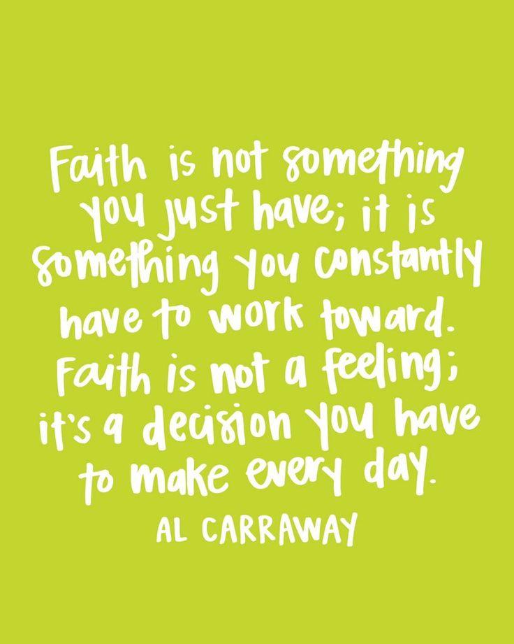 Faith God Quote Al Fox Carraway Lds Faith Quotes Faith