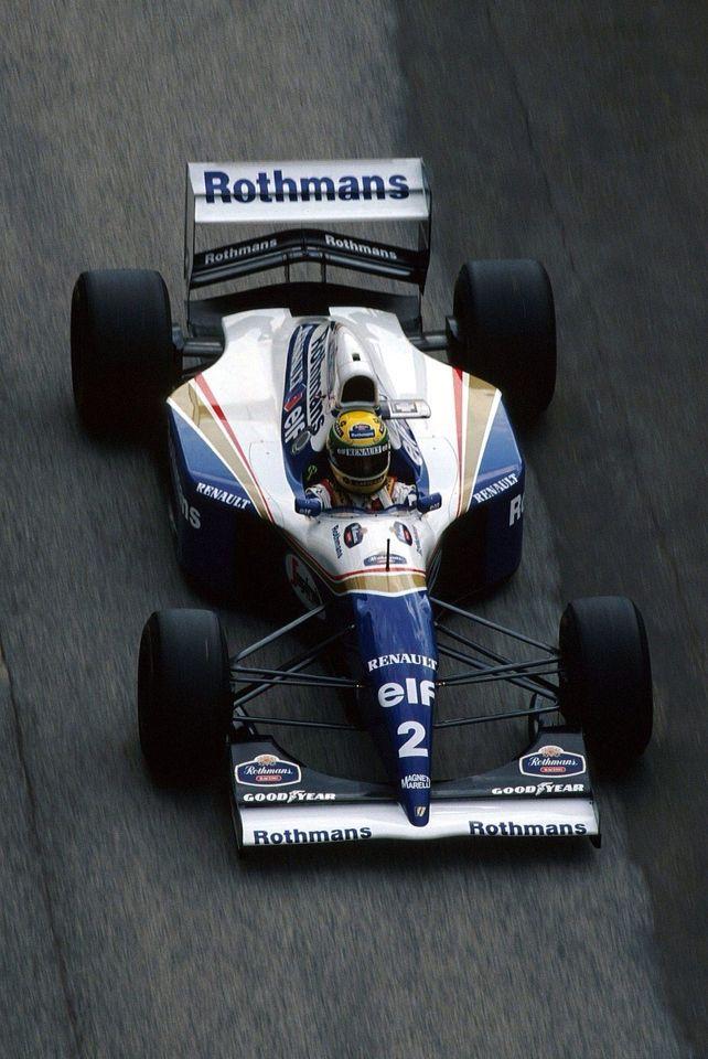 Ayrton Senna su Williams Renault 1994 - El auto de la tragedia de ese 1 de Mayo
