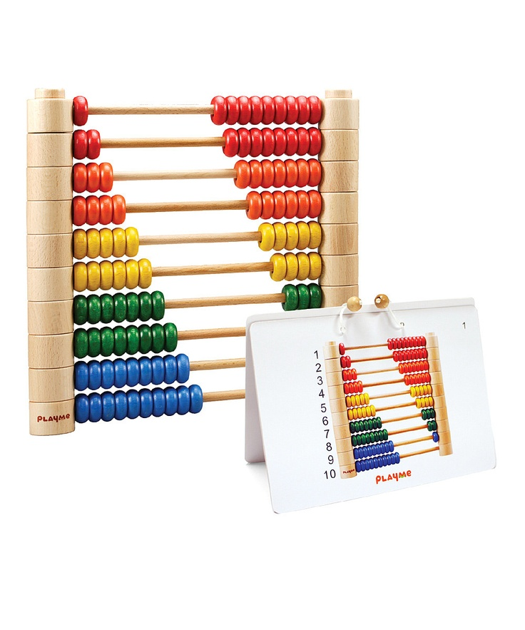 Detachable Abacus Counting Beads