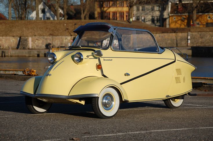 Messerschmitt KR200. There's something vaguely space-age about these ugly little things that is actually pretty awesome.