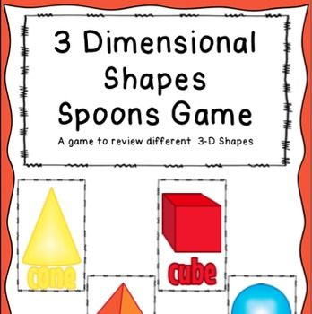 3 Dimensional Shapes Spoons gameBased on Classic Spoons Game.Match 4 shapes and grab a…