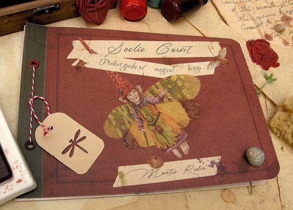 Corte Bendita, Guía de seres mágicos. Libro artístico (edición limitada y firmada)
