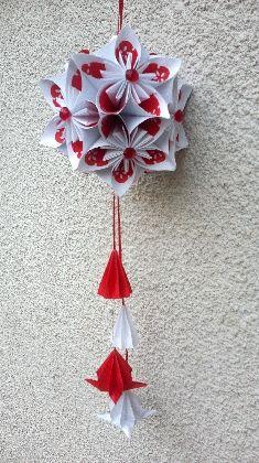 Ornament casa flori by Elena.Donner