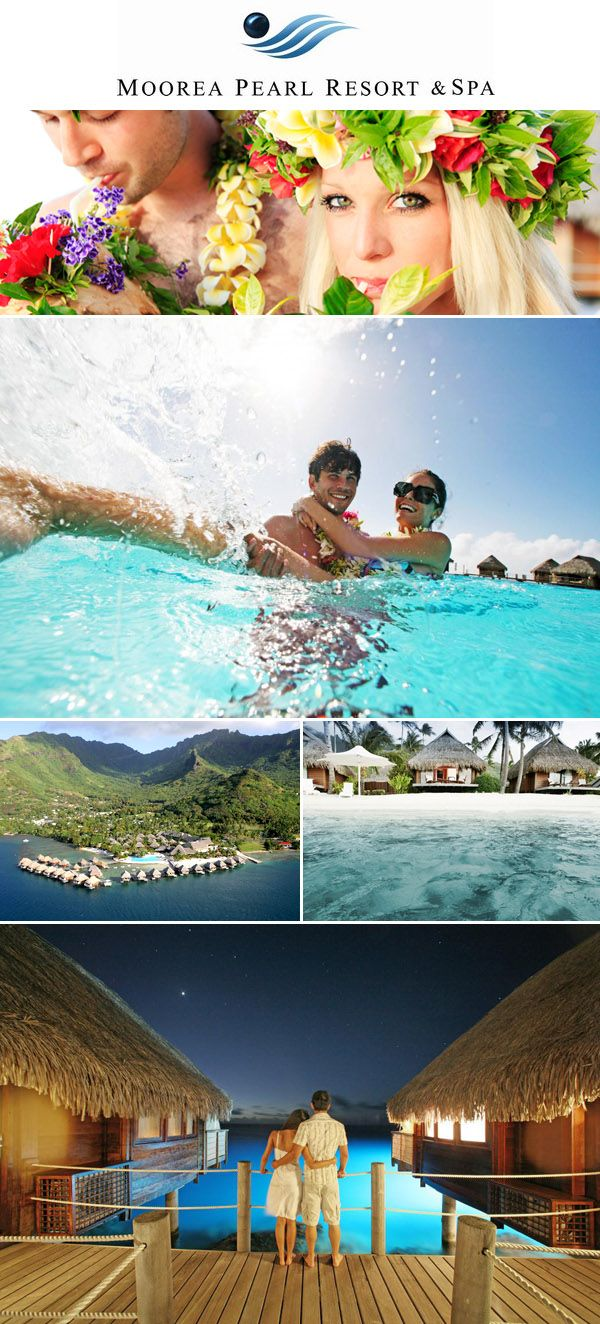 Win a honeymoon in French Polynesia from Junebug Weddings, the Moorea Pearl Resort & Spa and the Bora Bora Pearl Resort & Spa!