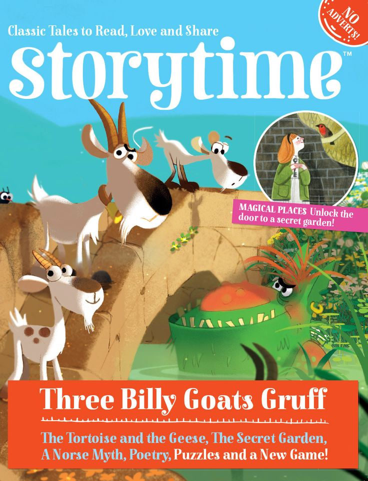 Storytime Issue 10 out now! With Three Billy Goats Gruff, The Secret Garden, dragons, fairies & more! ~ STORYTIMEMAGAZINE.COM