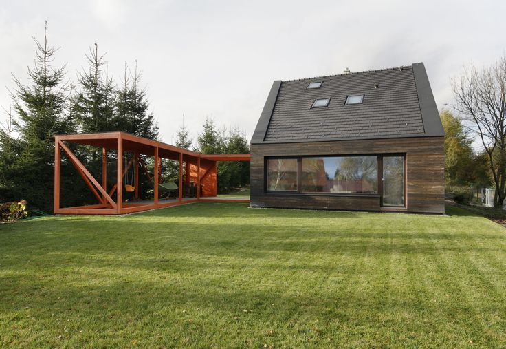 Wooden Family House