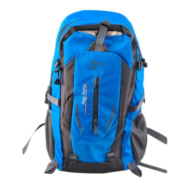 2016熱い販売40l屋外登山バッグ撥水ナイロンショルダーバッグ男性と女性旅行ハイキングキャンプバックパック