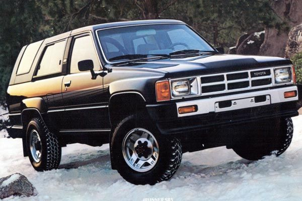 These 4Runners were some of the most rugged and capable compact 4WD vehicles ever offered in the U.S. They were based on the 4WD Toyota pickups of the day and were seriously over-engineered for durability. The solid axle and leaf spring suspension at each end of the 4Runner provided Jeep-matching off-road capability. And the fuel-injected 22RE four-cylinder engines are nearly indestructible. Take a long look at the 2014 Toyota 4Runner and it's probably tough to see the lineage that dates…