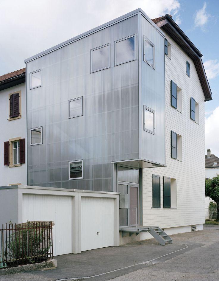 Gallery - TSN Residential Extension Le Noirmont / Dubail Begert Architectes - 1