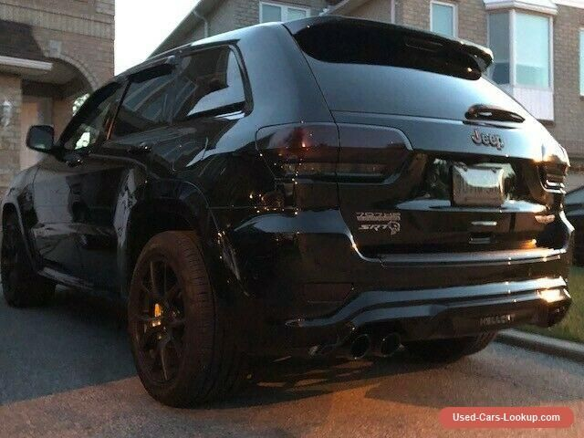 Car For Sale Jeep Grand Cherokee Trackhawk Jeep Cars For Sale