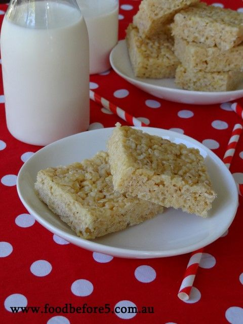 Rice Bubble Squares – Recipe