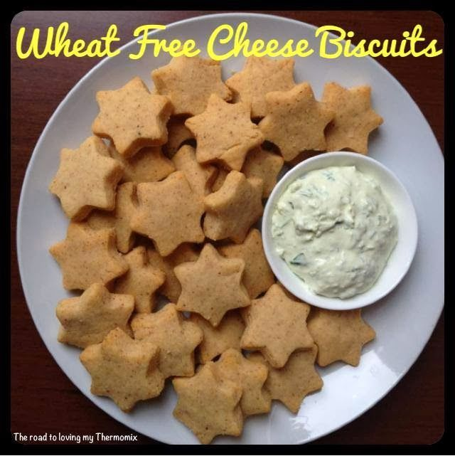 These are a good wheat free savoury biscuits. They are a little dry so I think cheese slices or dip is needed with these.  if you cant have nuts, sunflower or