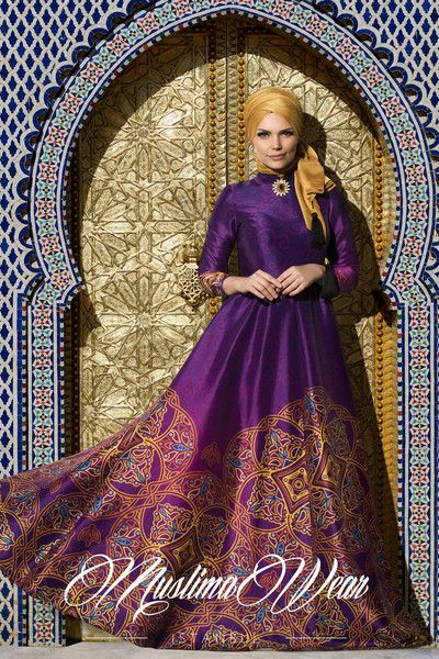 Silk Way Collection- Violette Dress