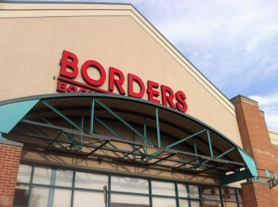 Borders in Springfield, VA--where I had meetups and attended Harry Potter book release parties.