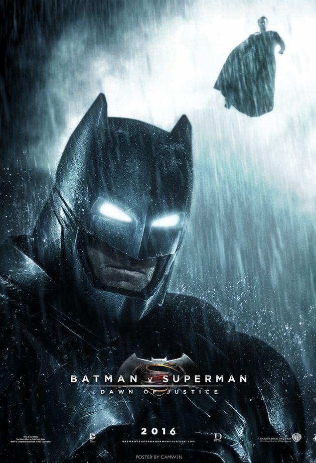 Batman v Superman : Une incroyable affiche de fan - Unification France