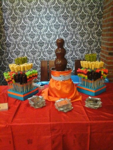 chocotata chocolate fountain surabaya
