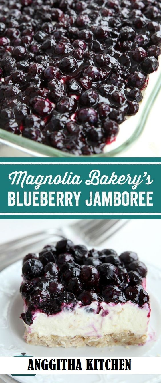 Magnolia Bakery Blueberry Jamboree desserts Blueberry