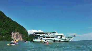 Ao Phang Nga National Park Kayak Adventure in PHANG NGA BAY Thailand