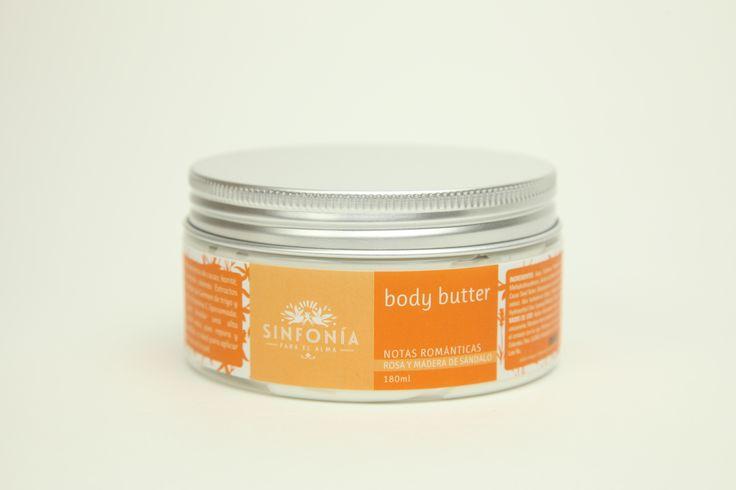 Body Butter o mantequilla corporal con mantecas de cacao, karité, mango y cera de abejas ideal para piel seca
