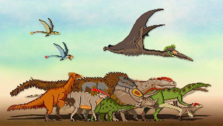 Mesozoic Procession
