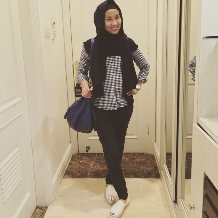 Hijab with cowboy style